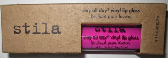 Stila Stay All Day Vinyl Lip Gloss in Hot Pink Vinyl