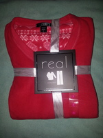 Real Underwear microfleece pj set