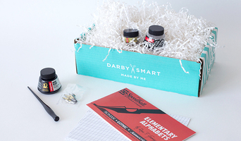 Subscription Box Swaps Learn Calligraphy Set Darby Smart