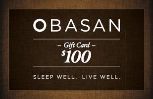 Obasan $100 gift card