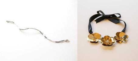 Fete Beaded Bracelet and Petal Pusher Necklace