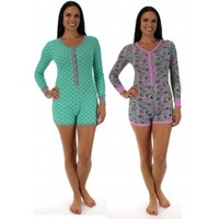 Long sleeve PJ Romper