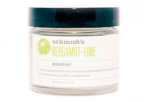 Schmidt's Natural Deodorant Bergamot Lime