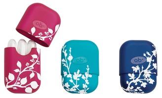 O.B. Reusable carry case for non-applicator tampons