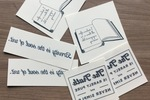 Litographics Temporary Literary Tattoos