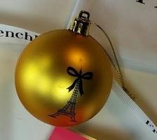 Frenchbox Christmas Tree Ornament
