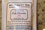 My Beauty Tea Sencha Green Tea in Pink Blossom