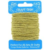 Craft Trim - Gold Glitter