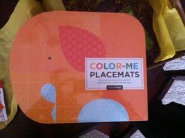 Petite Collage Color-Me Placemats