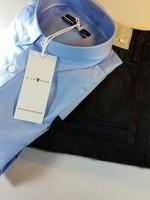 Blue Button Down Dress Shirt
