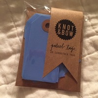 Knot & Bow Parcel Tags