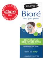 Biore' Self Heating one minute mask