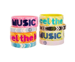 Feel The Music Bracelets 8pk