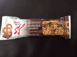 Kelloggs Special K Salted Pretzel Chocolate Snack Bar