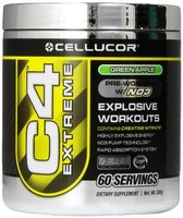C4 extreme pre-workout with NO3 - Green Apple