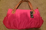 Latique Madrid Tote in Pink
