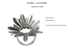 Marc by Marc Jacobs Metal Spike Ring