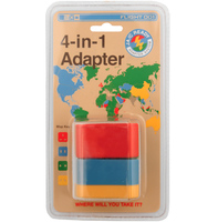 4-in-1 Travel Adapter by Flight 001