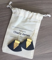 Charly James Gold Plated Earrings