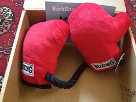 Fab Dog Boxing Gloves-tug toy