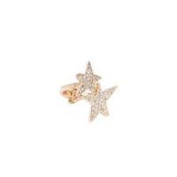Gold Double Star Ring by Robert Rose