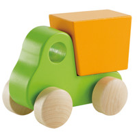Hape Little Dump Truck, Green