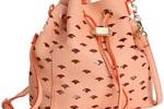 Deux Lux Wanderlust Drawstring Messenger Bag