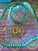 Yogi necklace with OM pendant