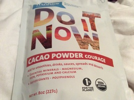 Do it now cacao powder courage