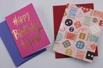 Cute As A Button Card