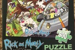 Exclusive! Rick and Morty 300-Piece Jigsaw Puzzle