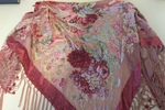 Betsey Johnson Floral Scarf