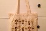 Golden Tote May Bag