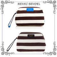 Henri Bendel Signature Stripe Canvas Dopp Kit