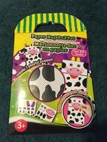 Cow Paper Bag Puppet