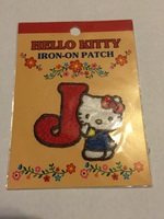 Hello Kitty Letter J Patch