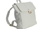 Mulberry Boxy Backpack - White