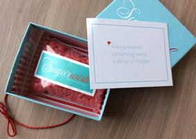 Sugarwish Red Cinnamon Hearts Candy