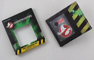 Ghostbusters tyvek Money Containment Unit (wallet)