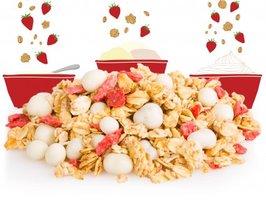 Stawberries & Cream Granola Topper