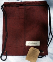 Handloomed Drawstring Backpack by ApiHappi