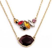 Oxblood Petal necklace