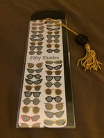 FIfty Shades book mark