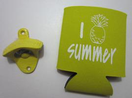 Yellow Pineapple Koozie