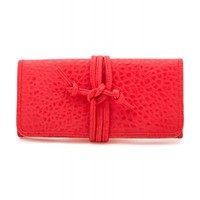 Gorjana Brooks Jewelry Roll in Red