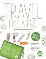 Whole Foods Travel Beauty Bag