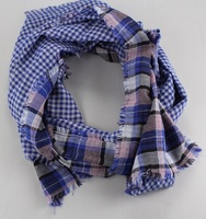 American Colors Clothing Plaid Scarf