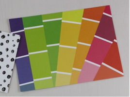 Paint Card Postcard
