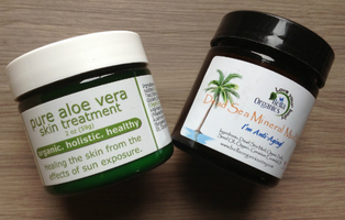 Dead Sea Mineral Mask (Item on Right)