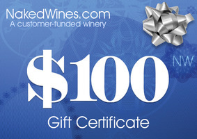 Naked Wines $100 off $160 coupon code